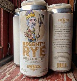 Haw River 'Regent's Rye' Tripel 16oz (Can)