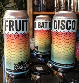 Fonta Flora 'Fruit Bat Disco' Strawberry Saison 16oz (Can)