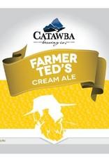 Catawba 'Farmer Ted's Cream Ale' 12oz (Can)