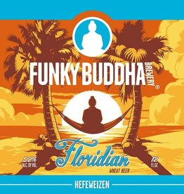 Funky Buddha 'Floridian' Wheat Beer 12oz (Can)