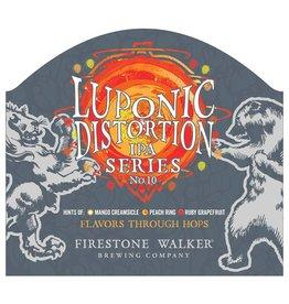 Firestone Walker 'Luponic Distortion Revolution 009' IPA 12oz (Can)