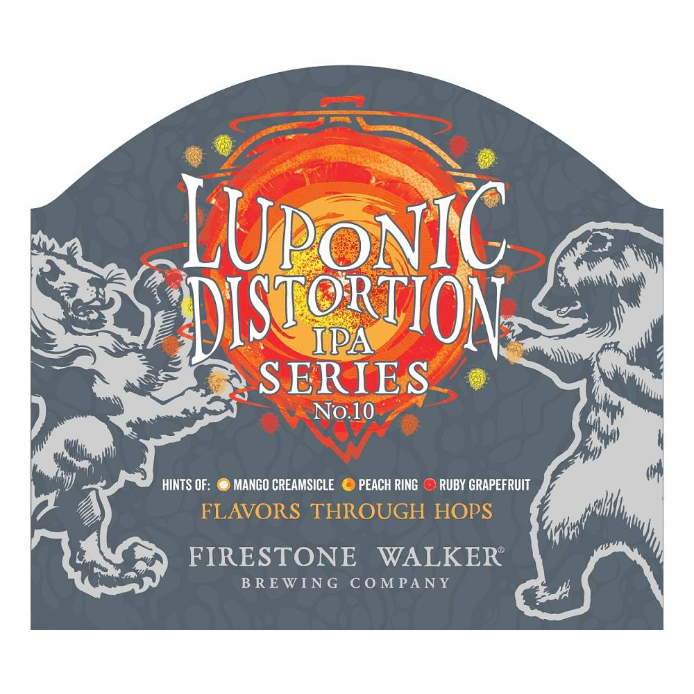 Firestone Walker 'Luponic Distortion Revolution 009' IPA 12oz (Can)