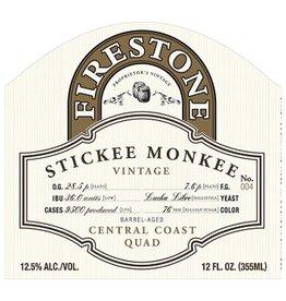 Firestone Walker 'Stickee Monkee 2018' Barrel-aged Quad 375ml