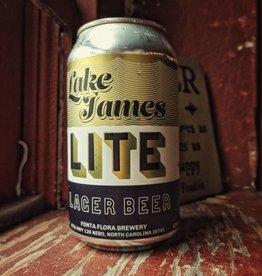 Fonta Flora Brewery 'Lake James Lite' Lager 12oz (Can)