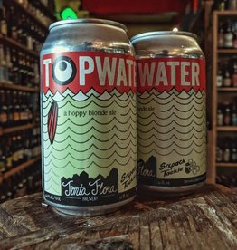 Fonta Flora Brewery 'Topwater' Hoppy Blonde Ale 12oz (Can)