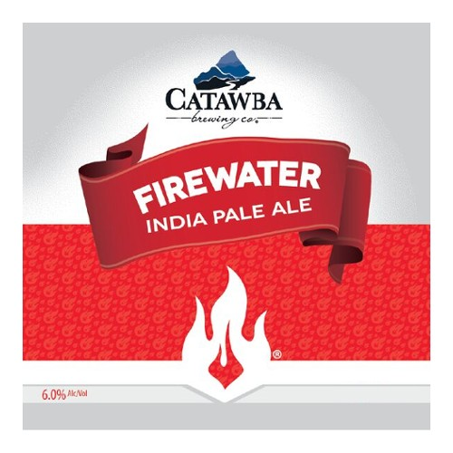Catawba Brewing Co. 'Firewater' IPA 12oz Sgl (Can)