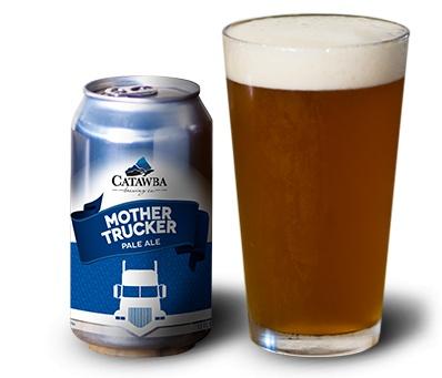 Catawba 'Mother Trucker' Pale Ale 12oz Sgl (Can)