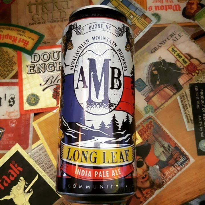 Appalachian Mountain Brewery 'Long Leaf' IPA 12oz (Can)