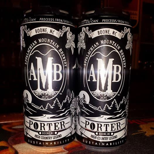Appalachian Mountain Brewery 'Black Gold' Porter 12oz (Can)