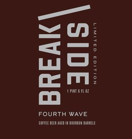 Breakside 'Fourth Wave' Bourbon Barrel-aged Coffee Beer 22oz