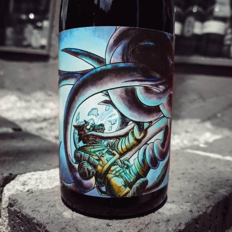 Newgrass 'Blu Matter' White Wine Barrel-aged Sour w/ Blueberries 500ml
