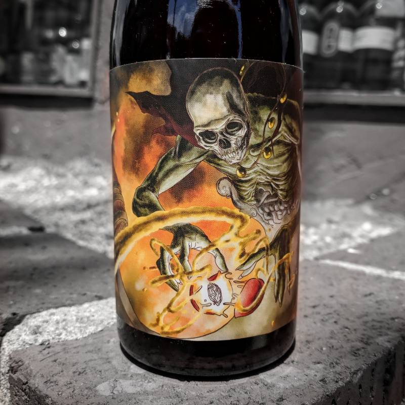 Newgrass 'Phantomagus' Chardonnay Barrel-aged Sour Ale w/ Peaches 500ml