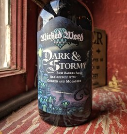Wicked Weed 'Dark & Stormy' Rum Barrel-aged Ale w/ Ginger & Molasses 375ml