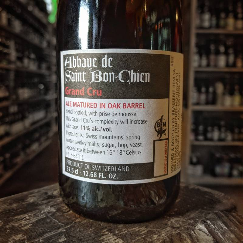 BFM 'Abbaye Saint Bon-Chien Grand Cru 2017' Bière de Garde 375ml