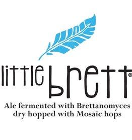 Allagash 'Little Brett' Ale w/ Brettanomyces & Mosaic Hops 12oz Sgl