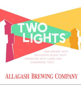Allagash Brewing Co. 'Two Lights' Biere de Champagne w/ Suavignon Grape Must 12oz Sgl