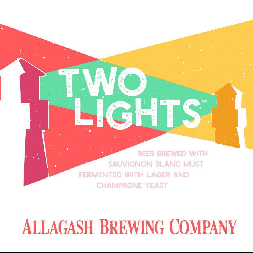 Allagash Brewing Co. 'Two Lights' Biere de Champagne w/ Suavignon Grape Must 12oz Sgl