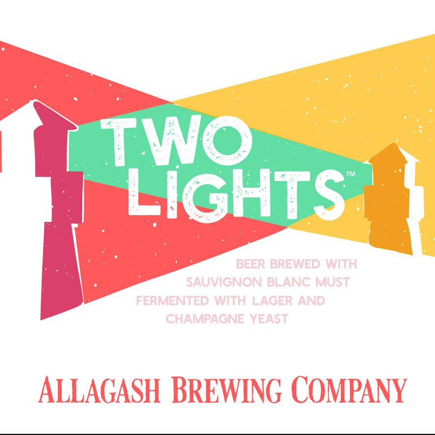 Allagash 'Two Lights' Biere de Champagne w/ Suavignon Grape Must 12oz Sgl