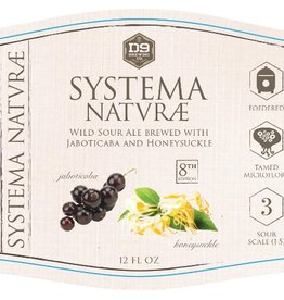 D9 Brewing Co. 'Systema Naturae #8' Wild Sour Ale w/ Jaboticaba & Honeysuckle 12oz Sgl