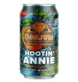Boojum 'Hootin Annie' Apricot Wheat Ale 12oz (Can)