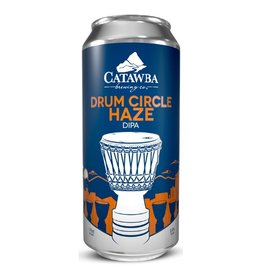 Catawba Brewing Co. 'Drum Circle Haze' Double IPA 16oz (Can)