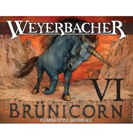 Weyerbacher 'Brunicorn VI' Flemish-Style Sour Brown Ale 750ml