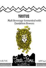 Fonta Flora Brewery 'Brutus' Mixed-Culture Saison w/ Dandelion Flowers 750ml