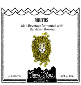 Fonta Flora Brewery 'Brutus' Mixed-Culture Saison w/ Dandelion Flowers 750ml