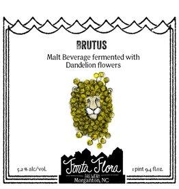 Fonta Flora 'Brutus' Mixed-Culture Saison w/ Dandelion Flowers 750ml