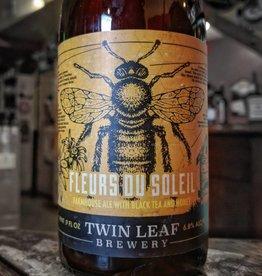 Twin Leaf 'Fleurs du Soleil' Farmhouse Ale w/ Black Tea & Honey 500ml