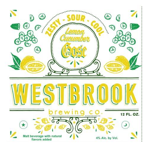 Westbrook 'Lemon Cucumber' Gose 12oz (Can)