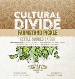 Haw River Farmhouse Ales 'Farmstead Pickle' Tart Saison Ale 16oz (Can)