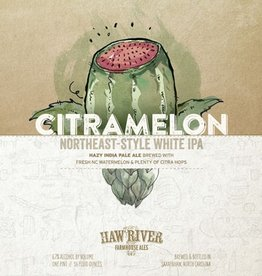 Haw River Farmhouse Ales 'Citramelon' White IPA 16oz (Can)