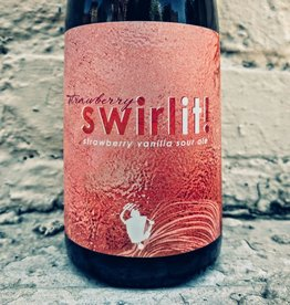 Wooden Robot 'Swirl It' Strawberry Vanilla Sour Ale 500ml