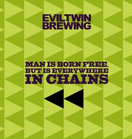 Evil Twin Brewing 'Man is Born Free But is Everywhere in Chains' IPA 16oz (Can)