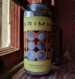 Grimm Artisanal Ales 'Living Daylights' Dry Hopped Sour Ale 16oz (Can)