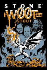 Stone Brewing 'W00t Stout 2018' Brewed with Pecans and aged in Bourbon Barrels 12oz Sgl