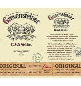 Veltins 'Grevensteiner' Original Naturtrübes Landbier 16oz (Can)