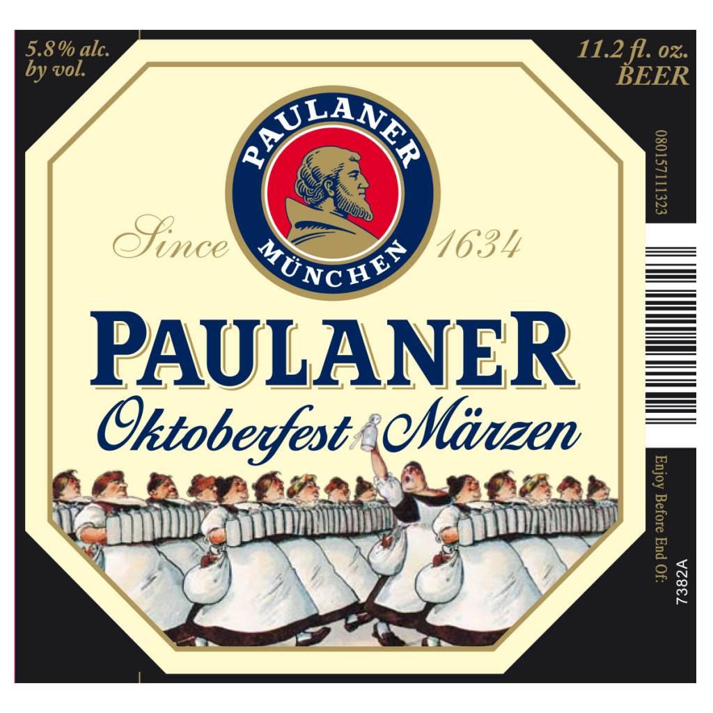Paulaner 'Oktoberfest Marzen' Lager 12oz Sgl