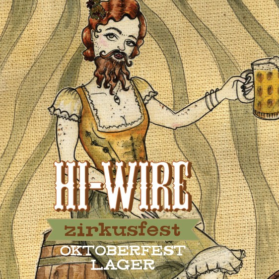 Hi-Wire Brewing 'Zirkusfest' Oktoberfest Lager 12oz Sgl