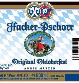 Hacker-Pschorr 'Original Oktoberfest' Amber Märzen 12oz Sgl