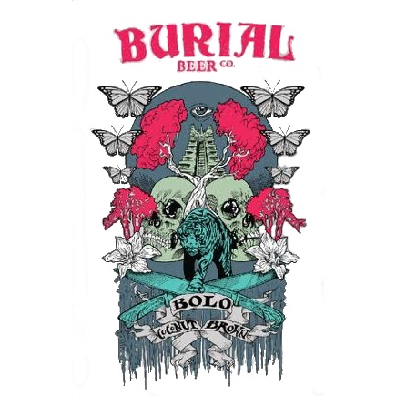 Burial Beer Co. 'Bolo' Coconut Brown 12oz (Can)