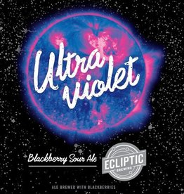 Ecliptic 'Ultra Violet' Blackberry Sour Ale 22oz
