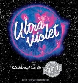 Ecliptic 'Ultra Violet' Blackberry Sour Ale 22oz