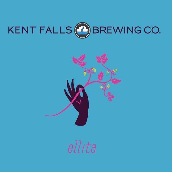 Kent Falls 'Ellita' Farmhouse Ale 500ml