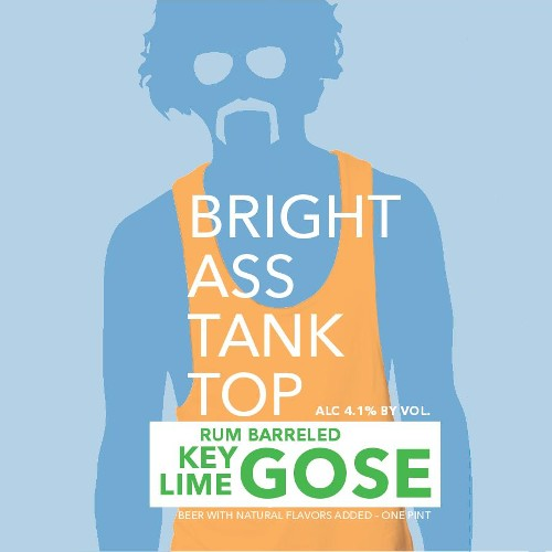 Unknown 'Bright Ass Tank Top' Gose brewed w/ Key Limes and aged in Rum Barrels 16oz