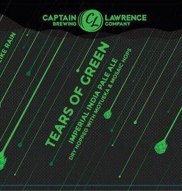 Captain Lawrence 'Tears of Green' Imperial IPA w/ Motueka & Mosaic Hops 16oz (Can)