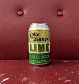 Fonta Flora Brewery 'Lake James Lite Lime' Lager Beer 12oz (Can)