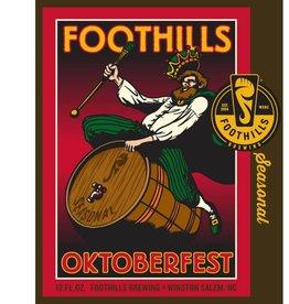 Foothills Brewing 'Oktoberfest' 12oz Sgl