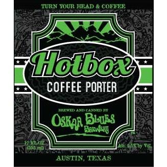 Oskar Blues 'Hot Box' Coffee Porter 12oz (Can)